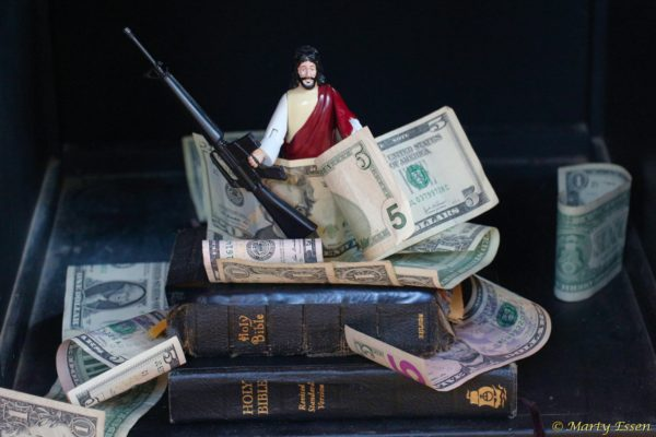 The Republican Jesus needs . . . your money