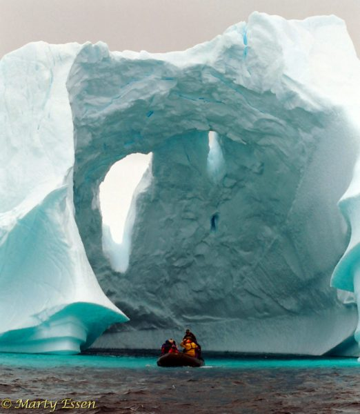 The Iceberg Graveyard