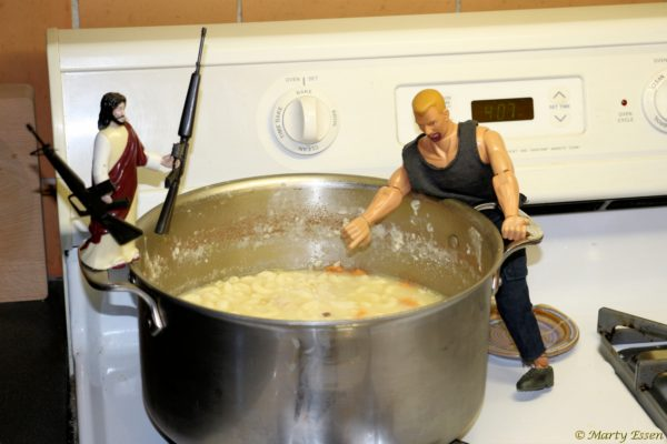 Martyman and the chicken soup mutiny