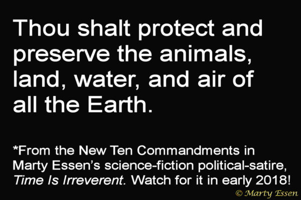 From the Liberal Ten Commandments, #10