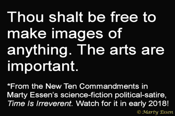 From the Liberal Ten Commandments