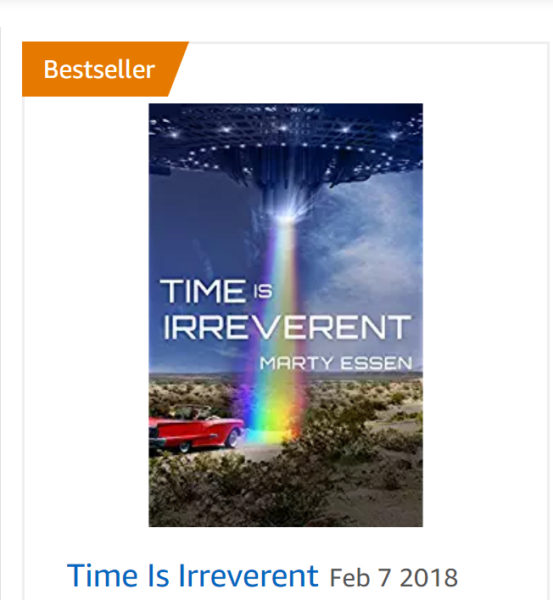 Time Is Irreverent: Canadian Best Seller