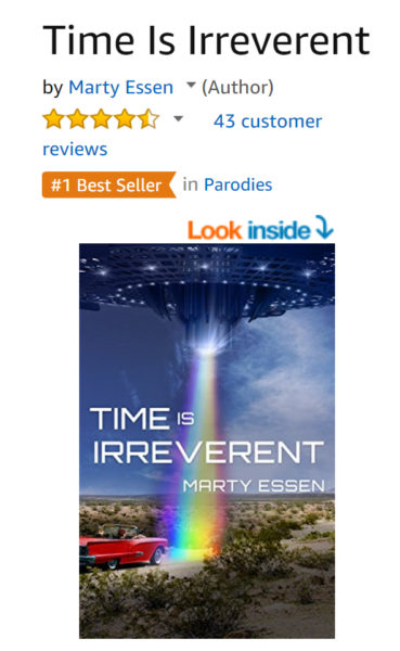 Time Is Irreverent is #1 in Parodies