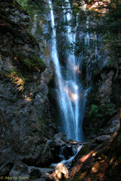 Waterfall in the Pyrenees