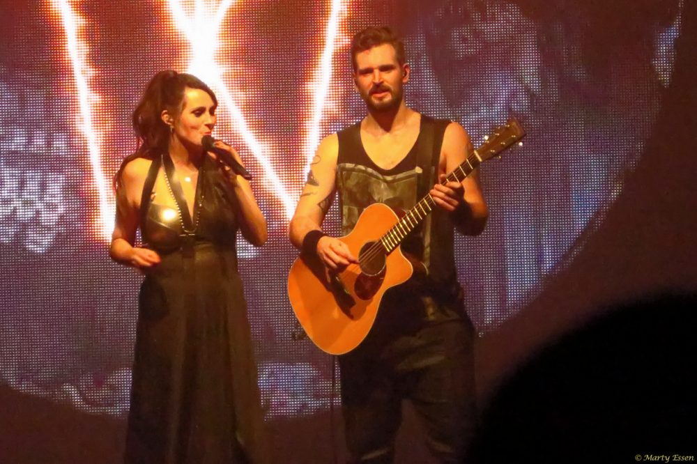 Within Temptation and the little camera