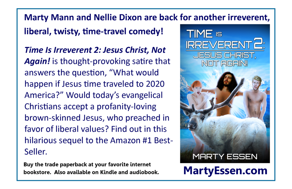 Be the first to read Time Is Irreverent 2: Jesus Christ, Not Again!