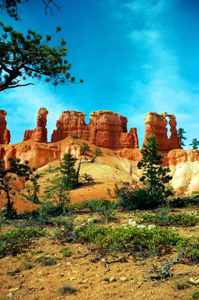 The scenery of Bryce Canon