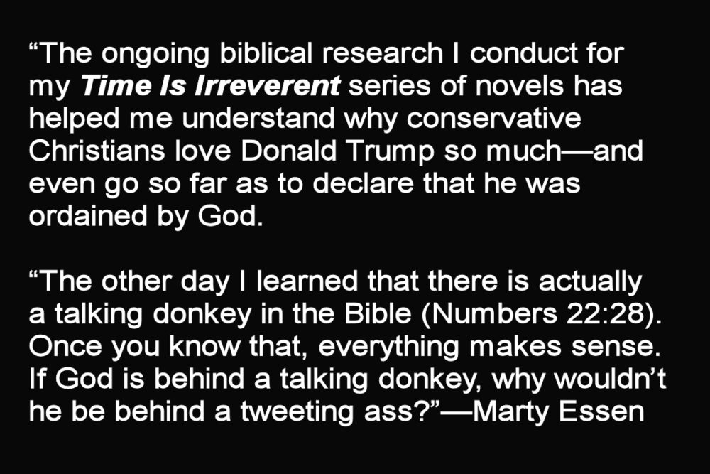 Understanding why conservative Christians think Trump was sent by God.