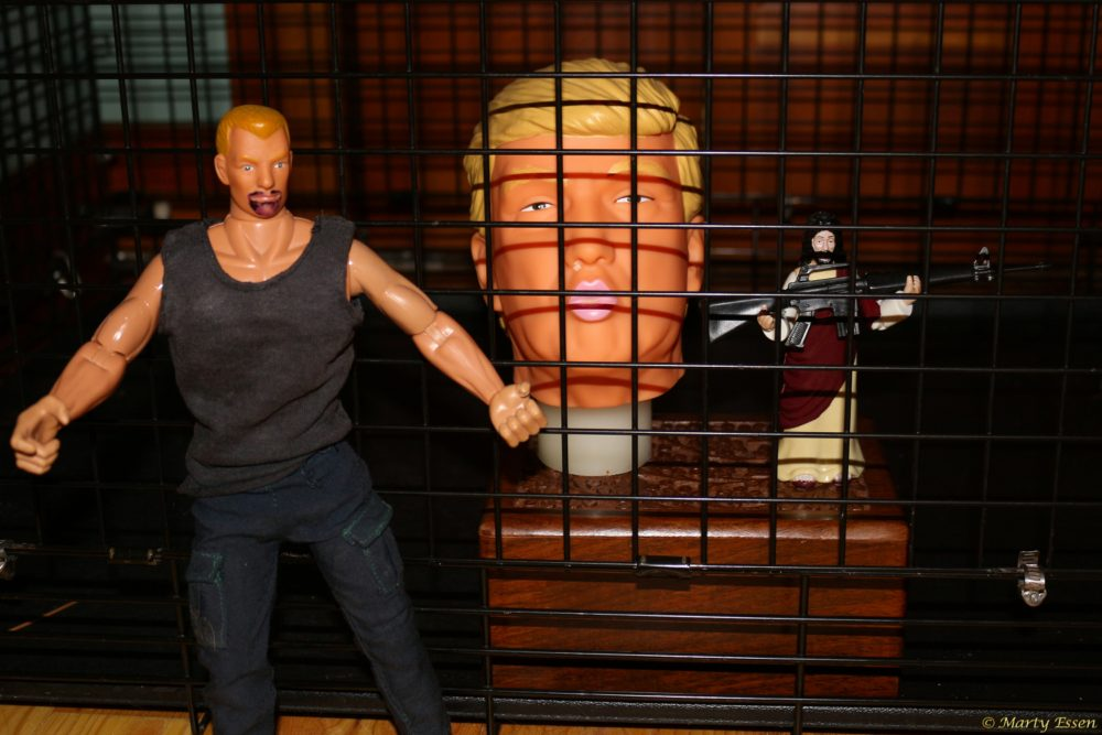 Martyman puts Mr. Trump Head where he belongs
