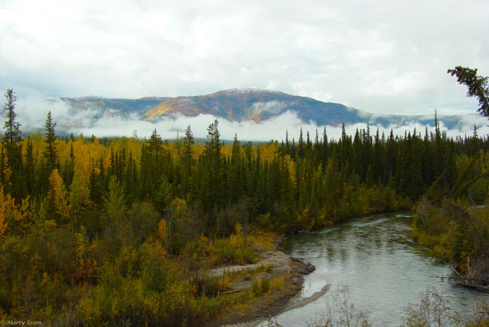 Fall in the Yukon Territory