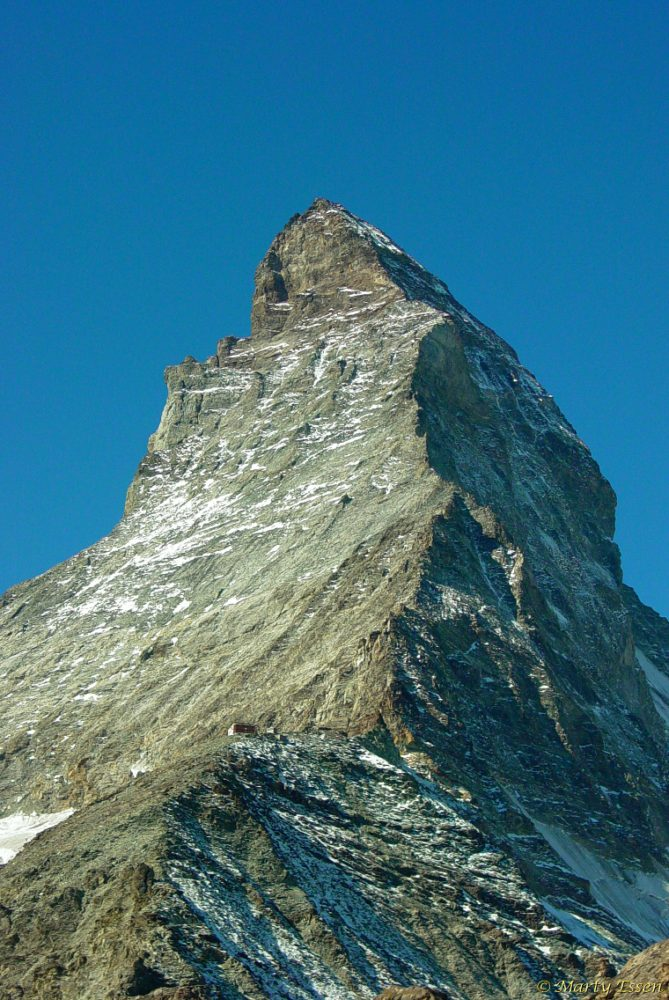 Ice on the Matterhorn