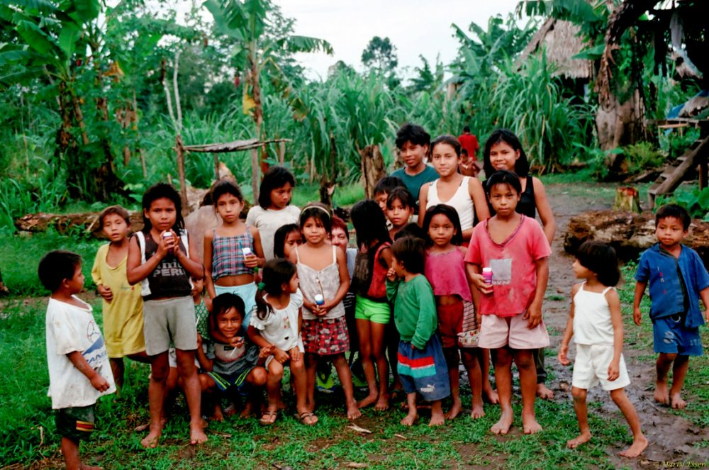 The Yagua children of the Amazon Rainforest