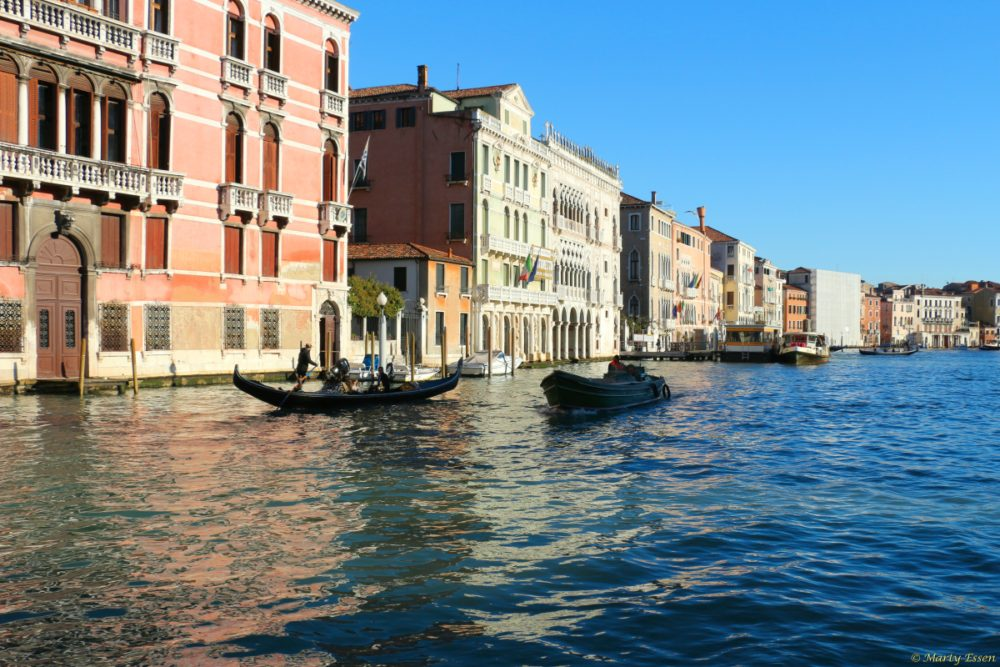 Two vision of Venice