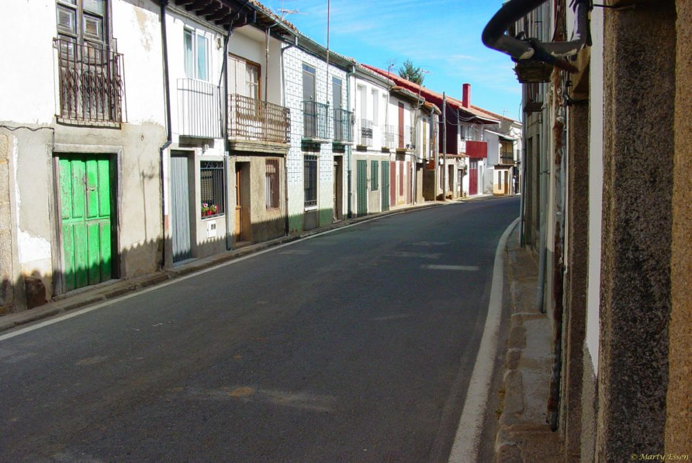 The streets of Arenas de San Pedro