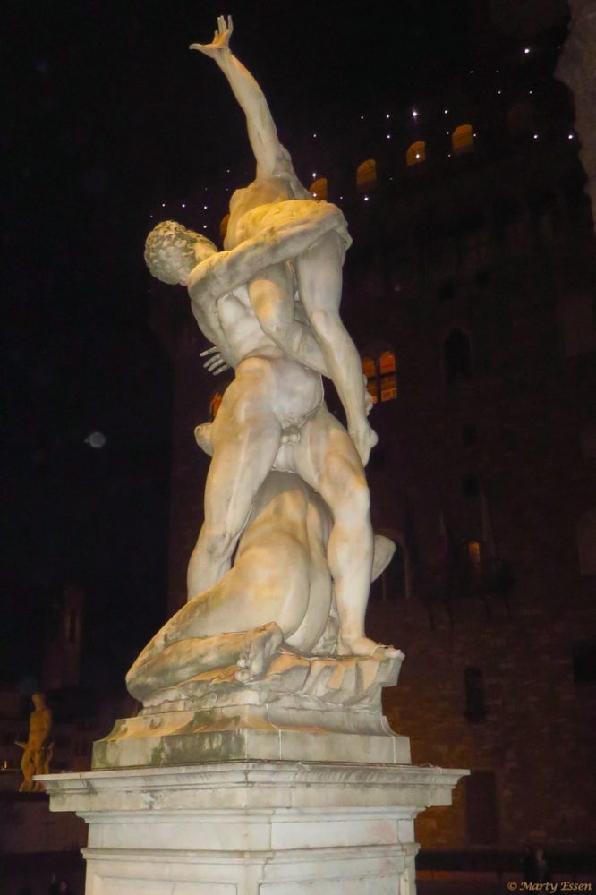 Statues in Florence, Italy