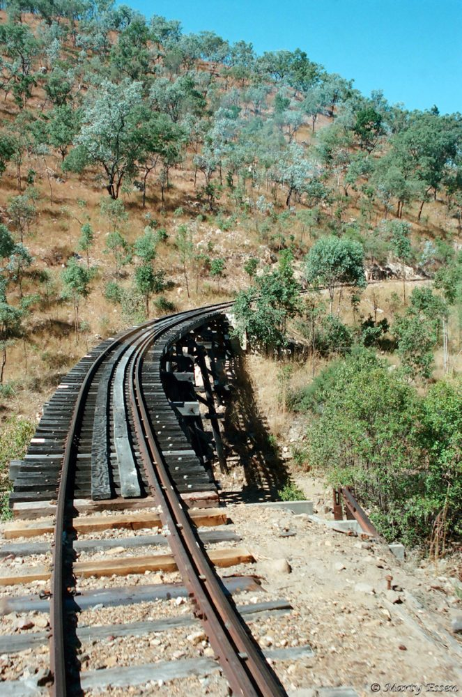 Train to the outback